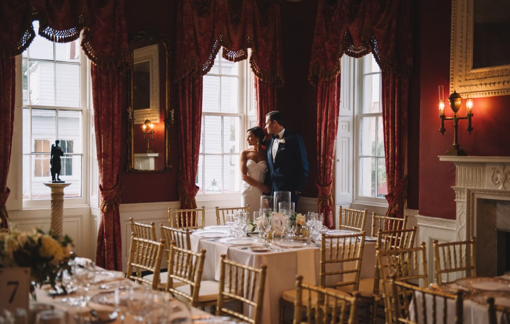 William Aiken House Charleston South Carolina Wedding