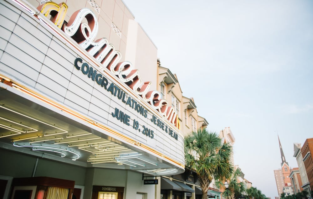 American Theater Weddings Charleston