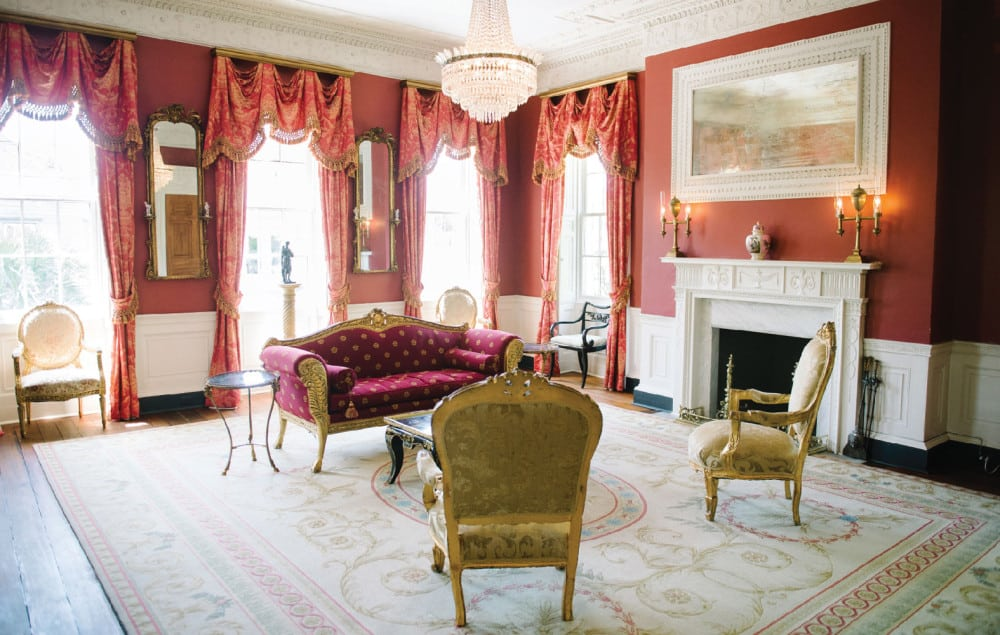 Sitting Room William Aiken House Charleston