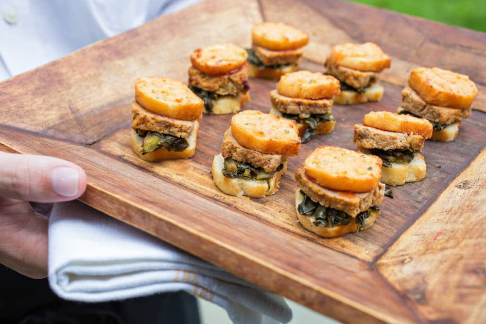 Pass It On New Hors D Oeuvres For Your Wedding Crowd