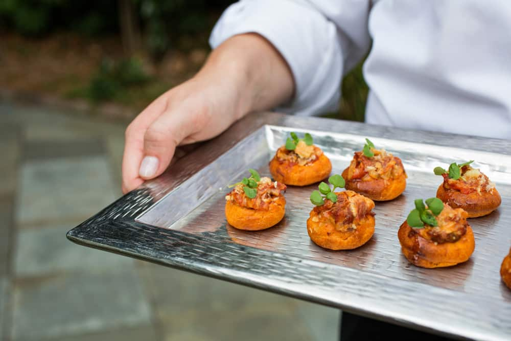 Pass It On: New Hors d'Oeuvres for Your Wedding Crowd!