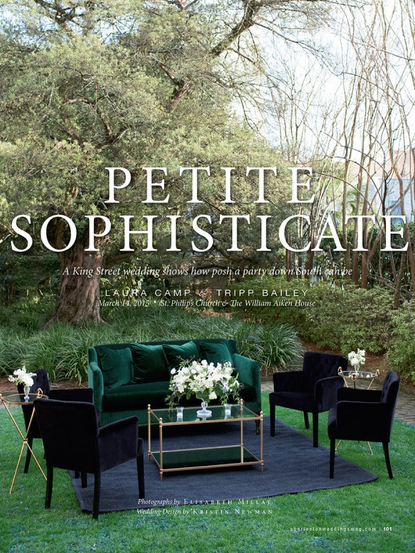 Charleston Weddings: Petite Sophisticate