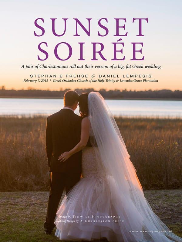 Charleston Weddings: Sunset Soiree