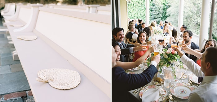 Summer Wedding Tips from PPHG Events | Charleston SC |Left: Catherine Ann; Right: Virgil Bunao