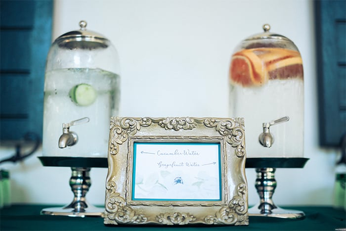 Lowndes Grove Plantation | Hydration Station | Gideon Photography