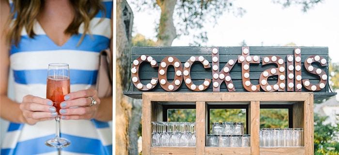 Summer Wedding Tips from PPHG Events | Charleston SC | Left Dana Cubbage; Right Aaron + Jillian