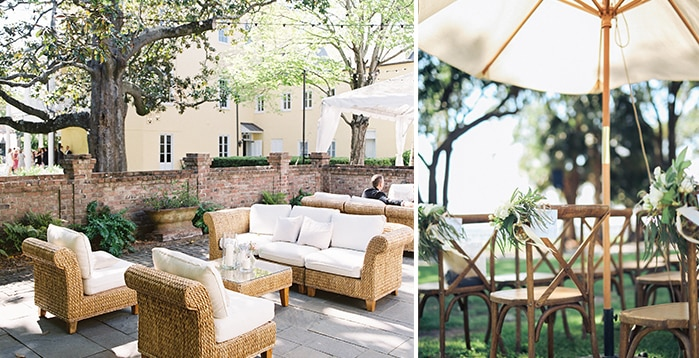 Tips for Summer Weddings from PPHG Events | Charleston SC | Left: Virgil Bunao; Right: Gideon Photography