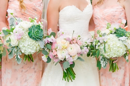 Spring wedding inspiration from Gabby & Pedro's March reception at Lowndes Grove Plantation in Charleston, SC | Photo by Dana Cubbage