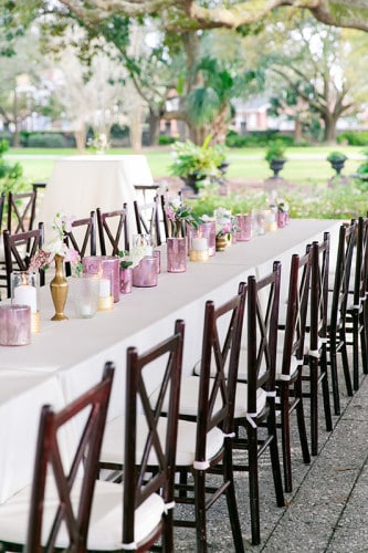 Gabby & Pedro's March wedding at Lowndes Grove Plantation in Charleston, SC | Spring wedding inspiration | Photos by Dana Cubbage Weddings