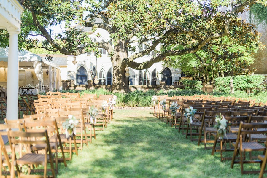 Spring Wedding William Aiken House Charleston