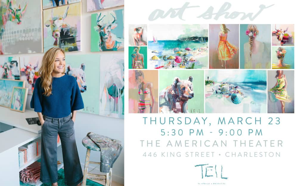 Save The Date: Patrick Properties Hosts Artist Teil Duncan On March 23!