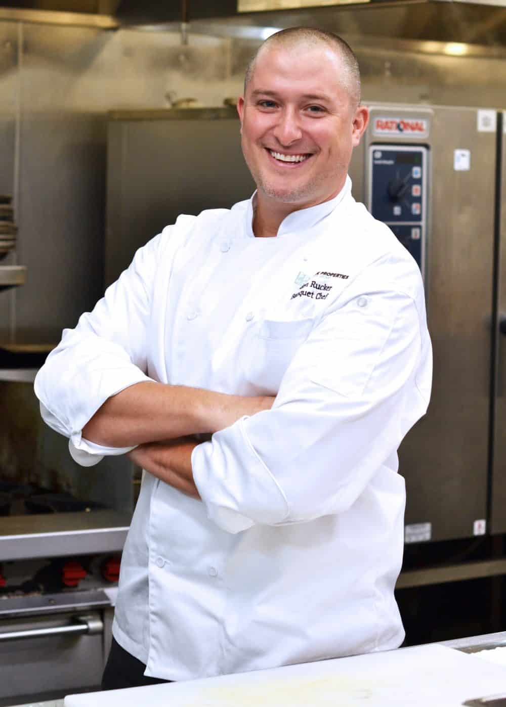 Employee Spotlight: Executive Banquet Chef Peden Rucker