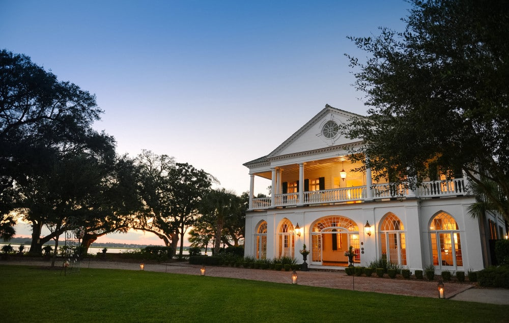 Lowndes Grove Plantation on historic charleston homes
