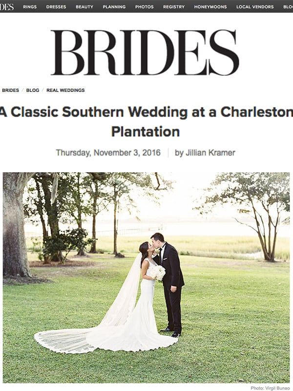 BRIDES MAGAZINE – ONLINE