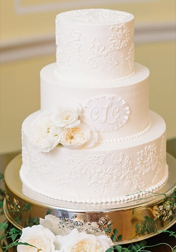 PPHG Cake by Jessica Grossman | Lowndes Grove wedding in Charleston, South Carolina