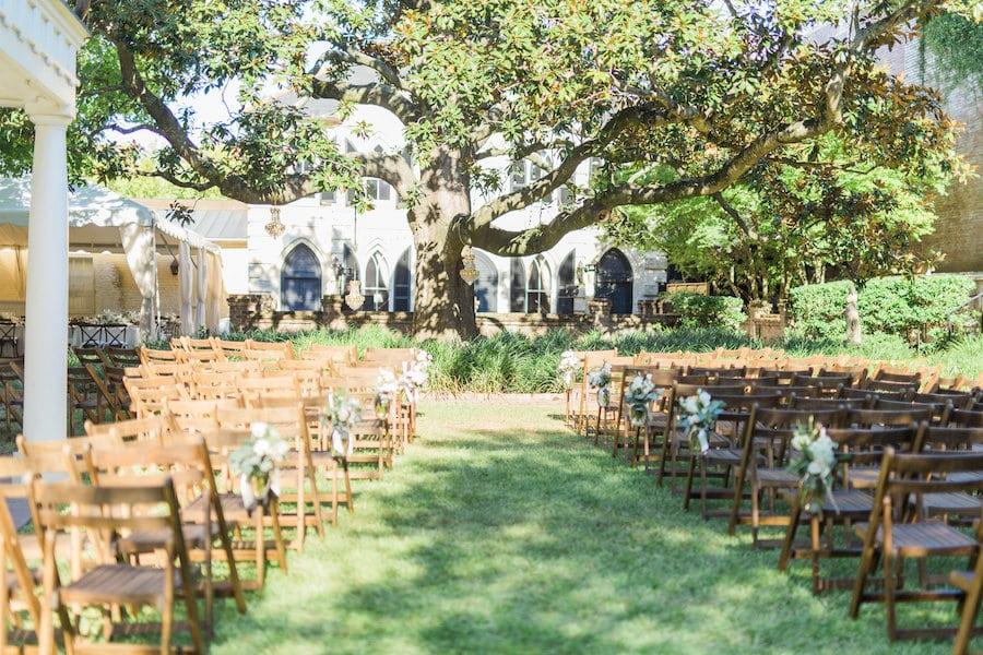 Spring Wedding William Aiken House Charleston