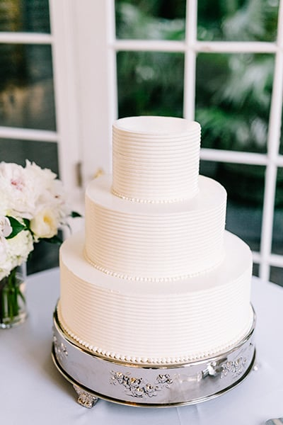PPHG cake by pastry chef Jessica Grossman | Fall wedding inspiration at Lowndes Grove Plantation in Charleston, South Carolina | Photo by Sara Bee Photography