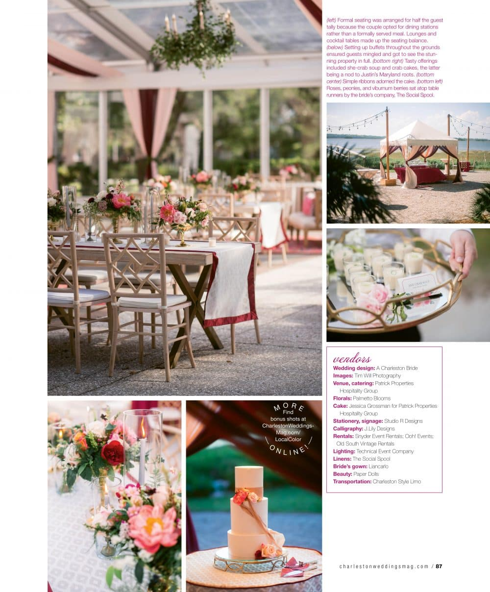 Charleston Weddings Spring 2018 Lowndes Grove