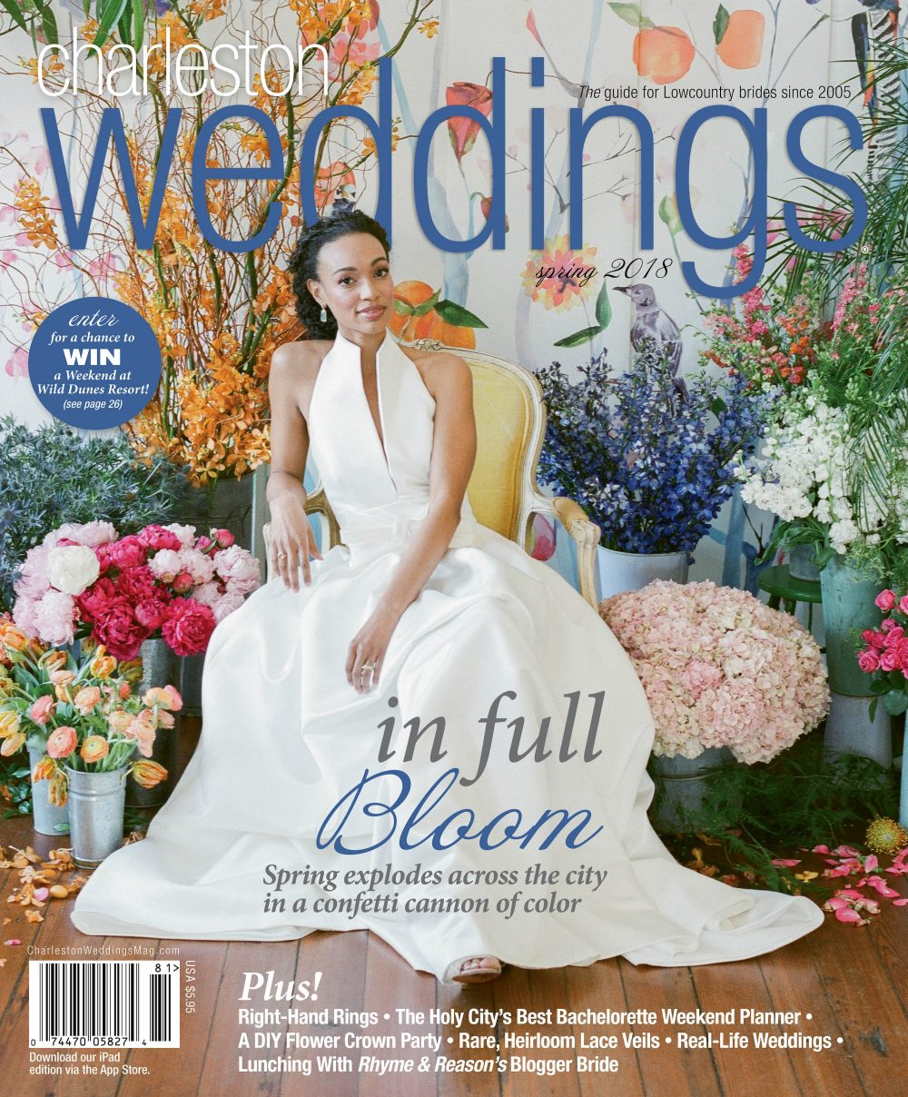 Charleston Weddings Magazine – Spring 2018