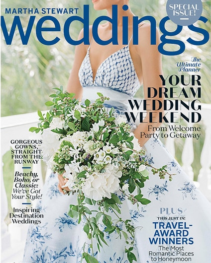 Martha Stewart Wedding Fall 2018 Special Issue
