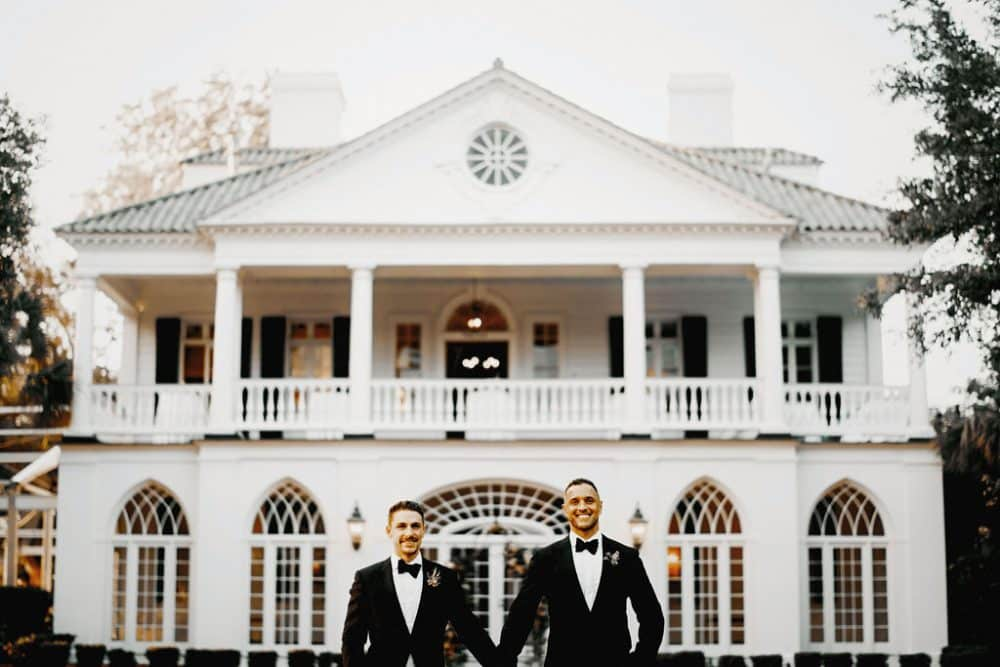 Real Wedding Inspiration: Anthony + Tommy's Destination Celebration of Love at Lowndes Grove