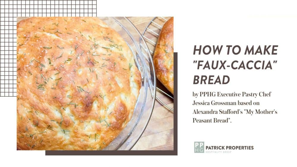 "How to Make ""Faux-caccia"" Bread!"