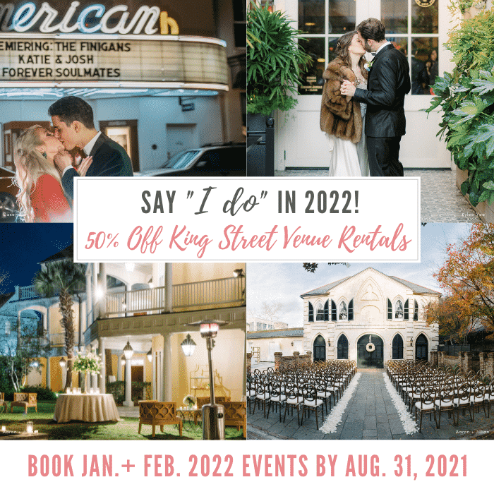 """Say """"I Do"""" in 2022 with 50% Off!"""