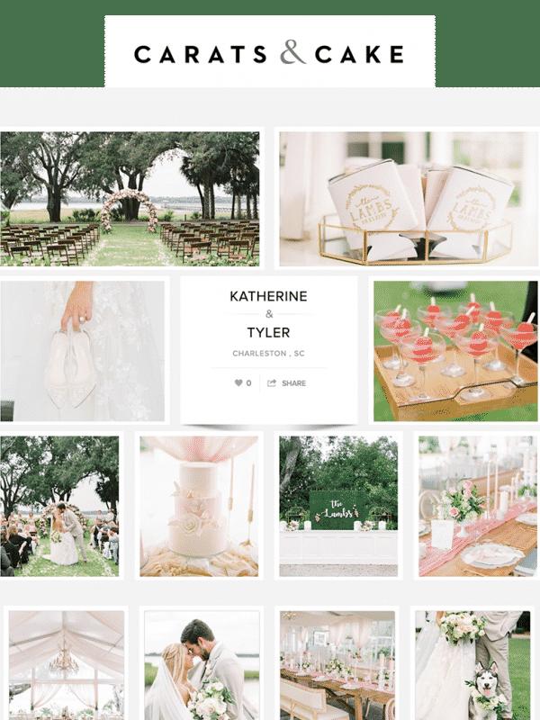Carats & Cake: Katherine + Tyler's Lowndes Grove Wedding