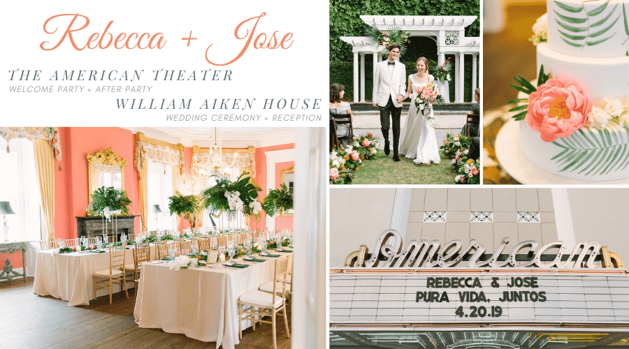 Rebecca + Jose's April Wedding Weekend with PPHG